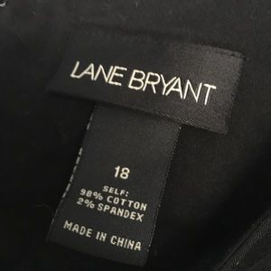 Lane Bryant Dresses - LBD V-neck with Grosgrain Ribbon Detail